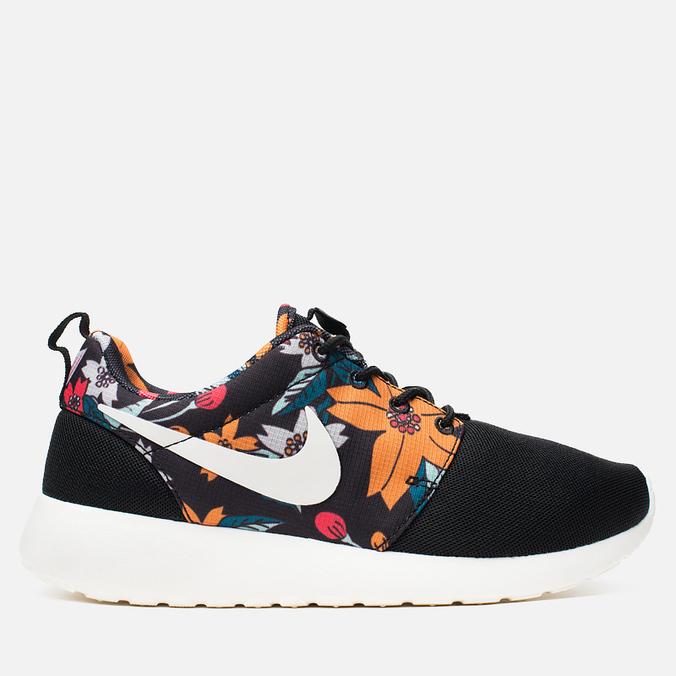 Женские кроссовки Nike Roshe One Print Black/Sail