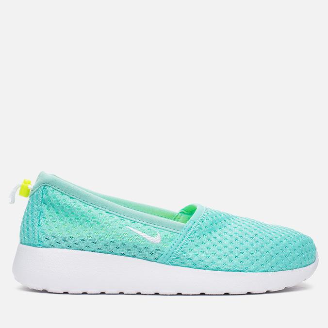 Женские кроссовки Nike Roshe One Slip Artisan Teal/White/Volt