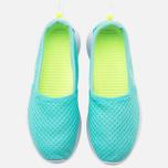 Женские кроссовки Nike Roshe One Slip Artisan Teal/White/Volt фото- 4