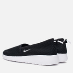 Nike Roshe One Slip Women's Sneakers Black/White photo- 2