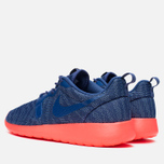 Женские кроссовки Nike Rosherun Knit Jacquard Cool Blue/Hot Lava фото- 2