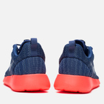 Женские кроссовки Nike Rosherun Knit Jacquard Cool Blue/Hot Lava фото- 3