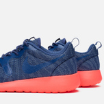 Женские кроссовки Nike Rosherun Knit Jacquard Cool Blue/Hot Lava фото- 7