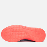 Женские кроссовки Nike Rosherun Knit Jacquard Cool Blue/Hot Lava фото- 8