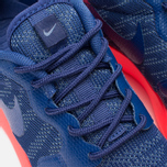 Женские кроссовки Nike Rosherun Knit Jacquard Cool Blue/Hot Lava фото- 6