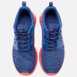 Женские кроссовки Nike Rosherun Knit Jacquard Cool Blue/Hot Lava фото- 4