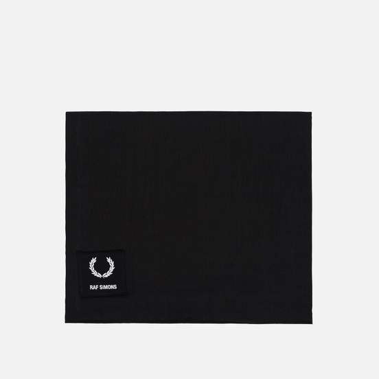 Шарф Fred Perry x Raf Simons Printed Patch Black