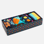 Комплект носков Happy Socks Big Dot Box Multicolor (pack x4) фото- 1