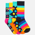 Комплект носков Happy Socks Big Dot Box Multicolor (pack x4) фото- 2