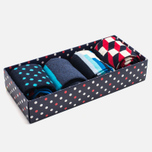 Комплект носков Happy Socks Filled Optic Box (pack x4) фото- 1