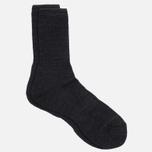 Мужские носки Anonymous Ism Boucle Mix 3 Quarter Black фото- 1