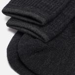 Мужские носки Anonymous Ism Boucle Mix 3 Quarter Black фото- 2