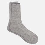 Мужские носки Anonymous Ism Boucle Mix 3 Quarter Grey фото- 1
