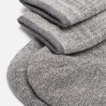 Мужские носки Anonymous Ism Boucle Mix 3 Quarter Grey фото- 2