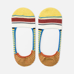 Мужские носки Anonymous Ism Loafer Multi Color Stripes Yellow фото- 1