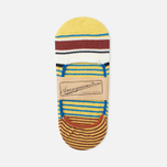 Мужские носки Anonymous Ism Loafer Multi Color Stripes Yellow фото- 0