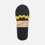 Anonymous Ism Loafer Zig-Zag Sky Socks Black/Yellow photo- 0
