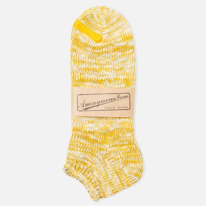 Мужские носки Anonymous Ism Slub Ankle Yellow