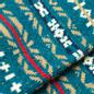 Носки Anonymous Ism Three Quarter Jacquard Pattern Torqoise фото - 2