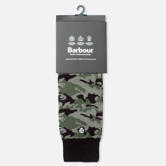 Мужские носки Barbour Camo Olive/Black