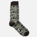 Мужские носки Barbour Camo Olive/Black фото- 1