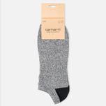 Мужские носки Carhartt WIP Bi-Colored Invisible Black Heather фото- 0
