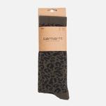 Мужские носки Carhartt WIP Gilbert Leopard Cypress фото- 0