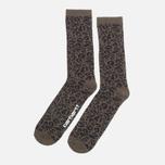 Мужские носки Carhartt WIP Gilbert Leopard Cypress фото- 1