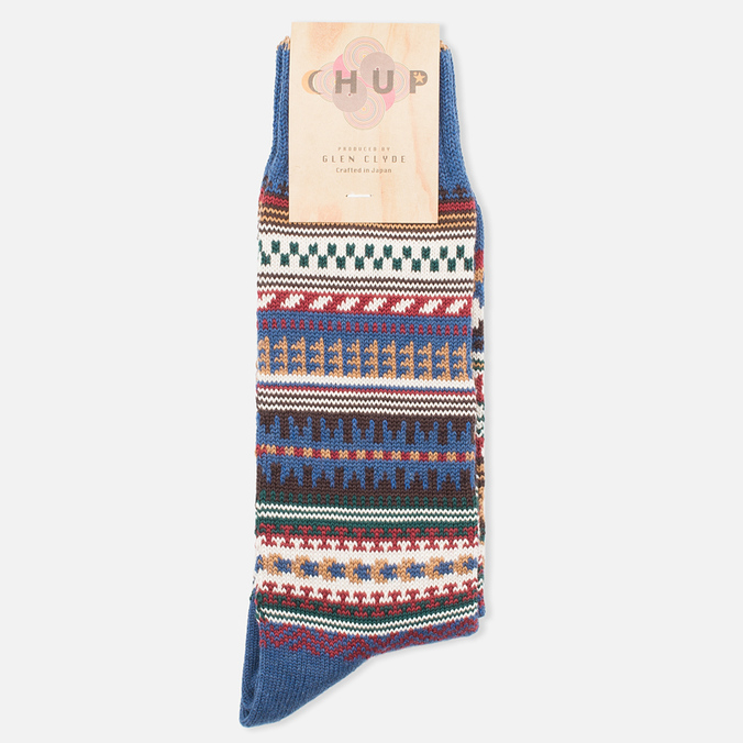 CHUP by Glen Clyde Butte Socks Blue