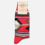 CHUP by Glen Clyde Gage Men's Socks Red photo- 0