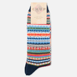 CHUP by Glen Clyde Lethia Men's Socks Navy photo- 0