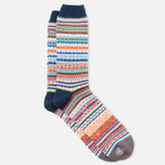 CHUP by Glen Clyde Lethia Men's Socks Navy photo- 1