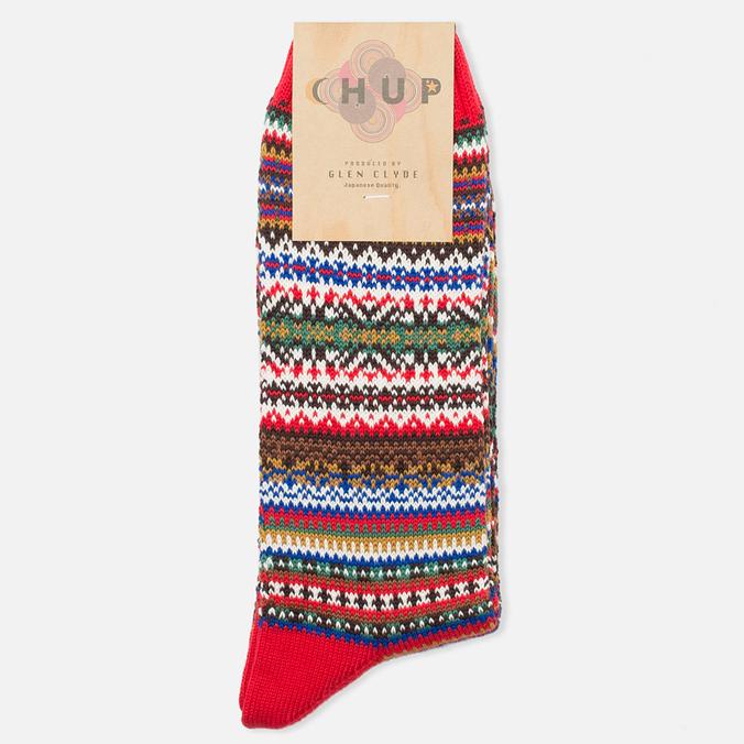 CHUP by Glen Clyde Lethia Men's Socks Red