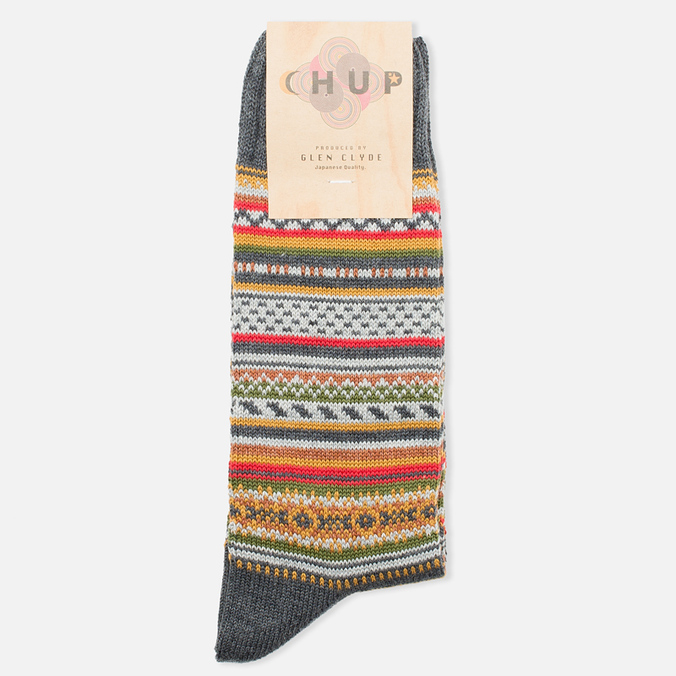CHUP by Glen Clyde Montana Men's Socks Charcoal