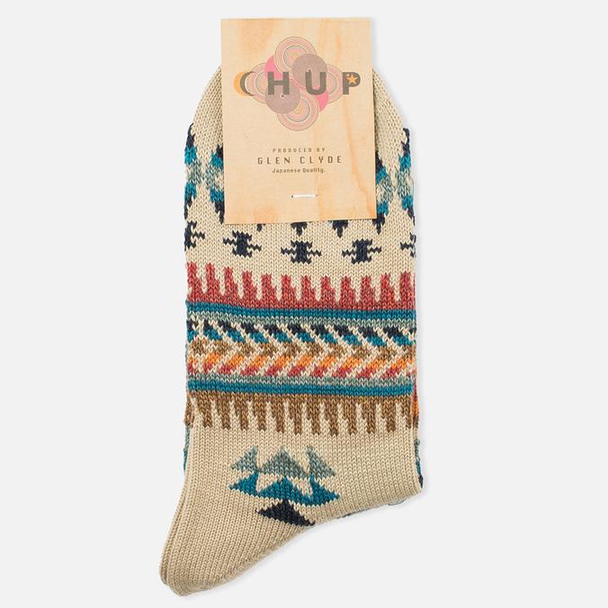 CHUP by Glen Clyde Naaghaii Socks Beige