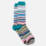 CHUP by Glen Clyde Sneachta Men's Socks Emerald photo- 1