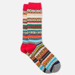 CHUP by Glen Clyde Sneachta Men's Socks Red photo- 1