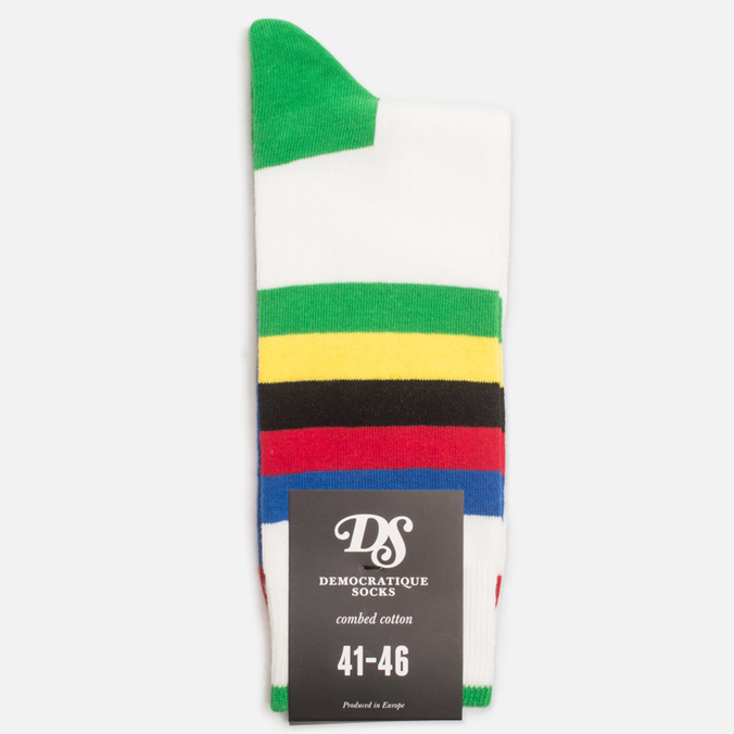 Мужские носки Democratique Socks Originals Bike Rainbow/Cycling
