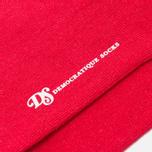 Мужские носки Democratique Socks Originals Block Party Red/White/Navy фото- 2