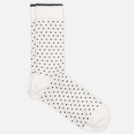 Мужские носки Democratique Socks Originals Polkadot Broken White/Navy фото- 1