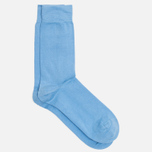Democratique Socks Originals Solid Men's Socks Baby Blue photo- 1