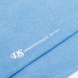 Мужские носки Democratique Socks Originals Solid Baby Blue фото- 2