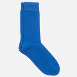 Мужские носки Democratique Socks Originals Solid Henri Blue фото- 1