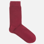 Democratique Socks Originals Solid Red Wine photo- 1