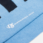 Мужские носки Democratique Socks Originals Striper Navy/Baby Blue фото- 2