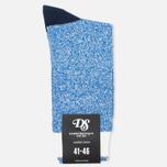 Мужские носки Democratique Socks Relax Block Henry Blue/White/Charcoal фото- 0