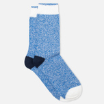 Мужские носки Democratique Socks Relax Block Henry Blue/White/Charcoal фото- 1