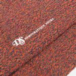 Мужские носки Democratique Socks Relax Diamond Knit Supermelange Navy/Red Wine/Army/Blood Orange фото- 2