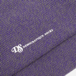 Мужские носки Democratique Socks Relax Melangecontrast Army/Deep Purple/Off White фото- 2