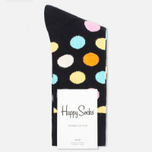 Носки Happy Socks Big Dot Black фото- 0